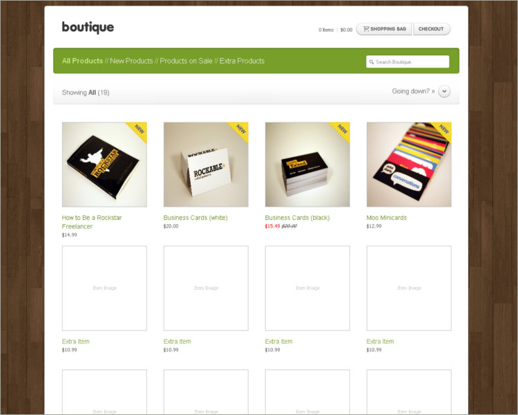 31+ Boutique Website Themes & Templates Free Download