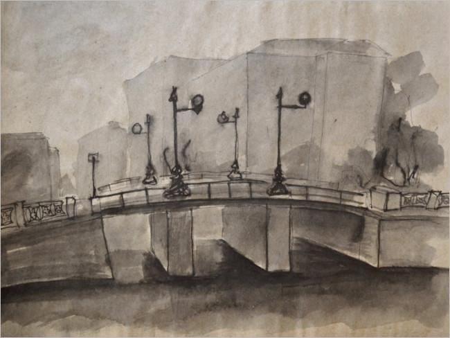 Bridge In St Petersburg Design