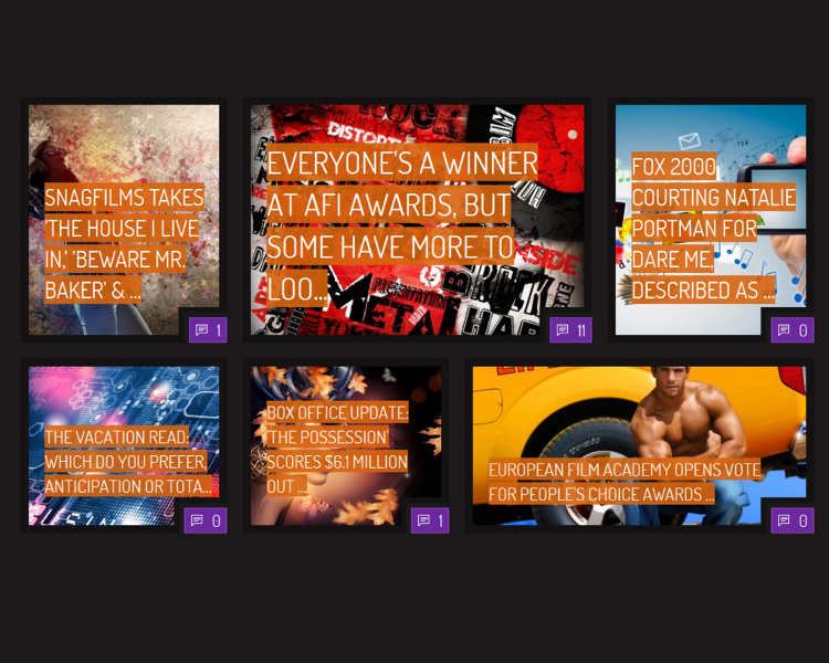 BuddyPress Entertainment WordPress template