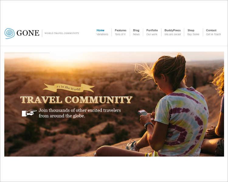 Buddypress WooCommerce WordPress Template