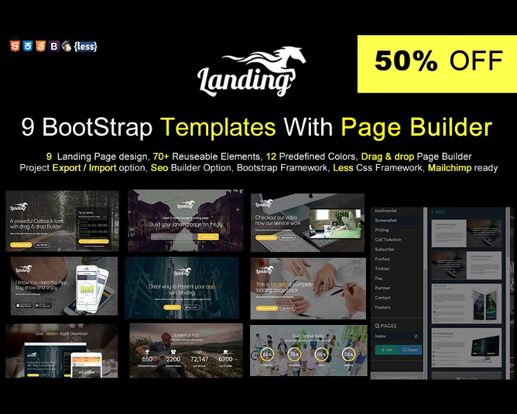 Builder Bootstrape Website Template