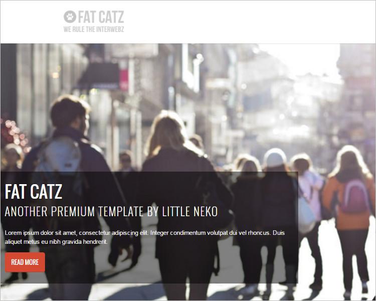 Business Bootstrap Website Template
