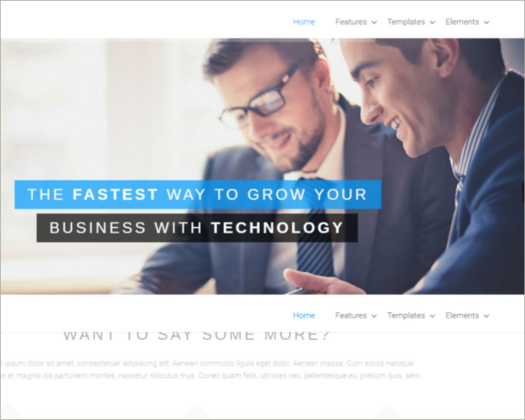 Business & Portfolio Theme for WordPress