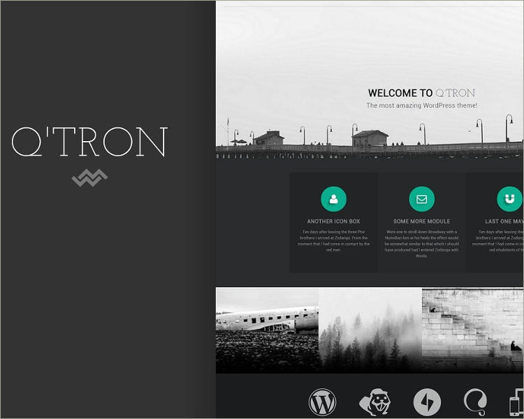 Business Portfolio WP Theme