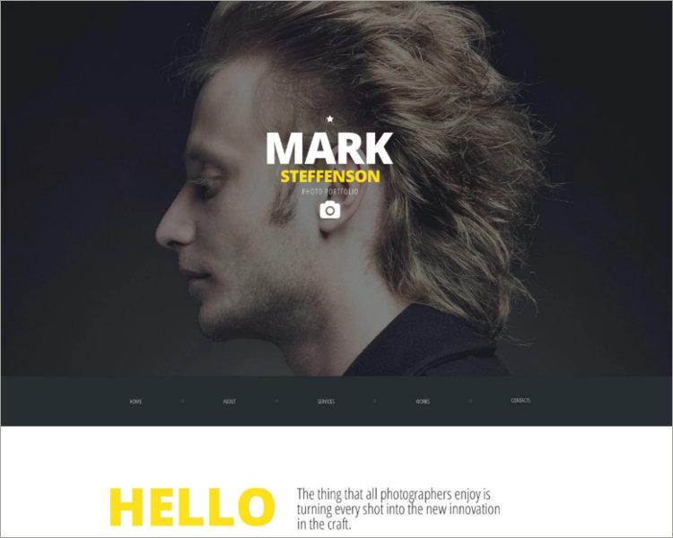 CV Website Template