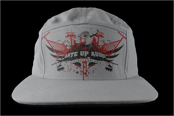 Camper Hat Mockup Design