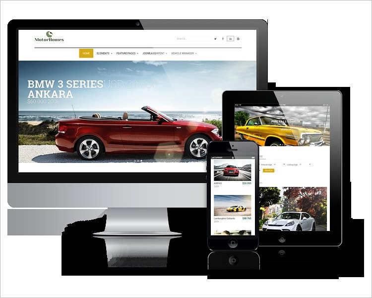 Car Dealer Website provider Template