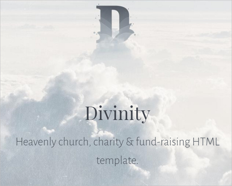 Church Charity Bootstrap Template