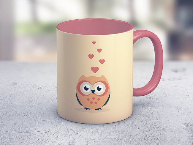 Coffee Mug Mockup is a pack of 2 PSD Files