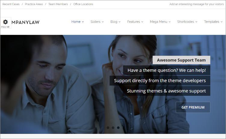CompanyLaw WordPress Templates