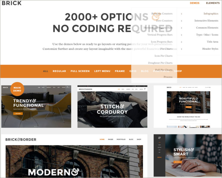 Contemporary Multi-Purpose Theme