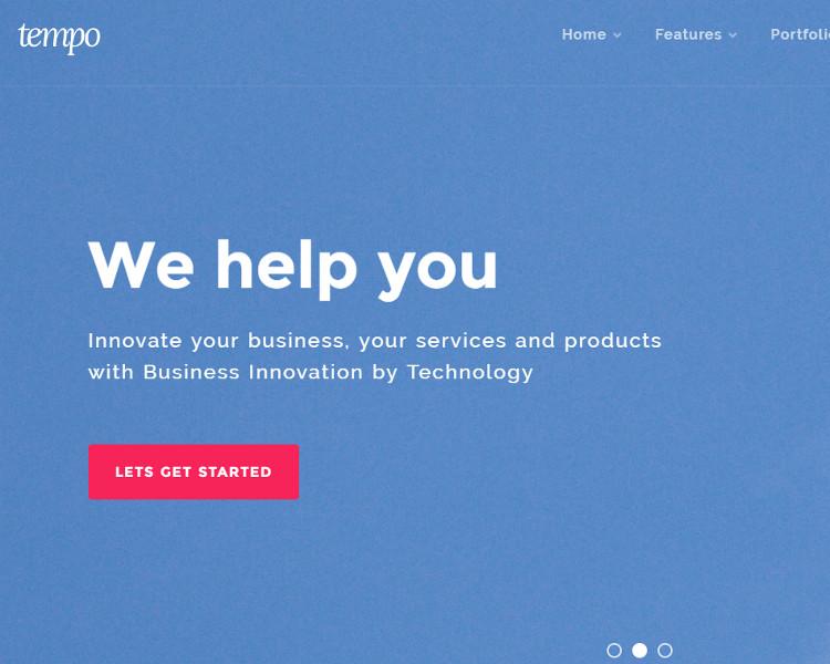 Corporate Bootstrape Website Template