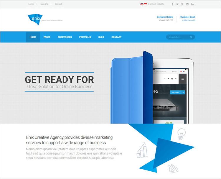 Corporate WordPress Themes Responsive