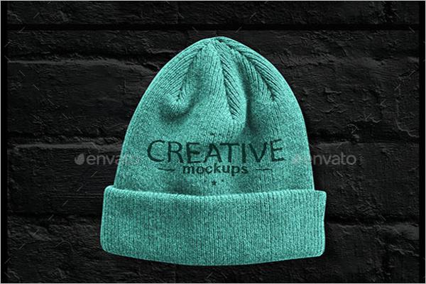 Creative Cap Mock Up