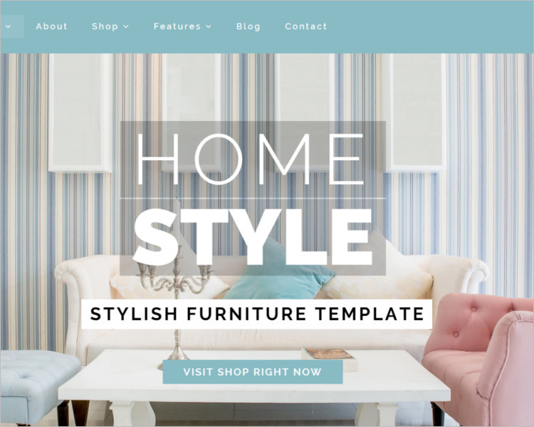 Creative Furniture Bootstrape Template
