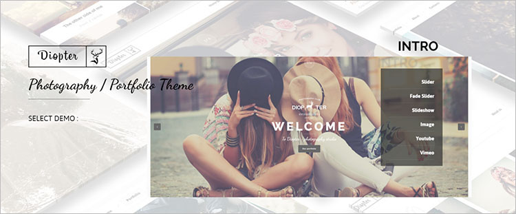 Creative Photography Theme Templates