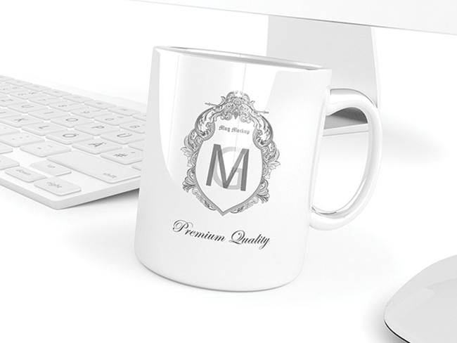 Cup PSD mockups to showcase