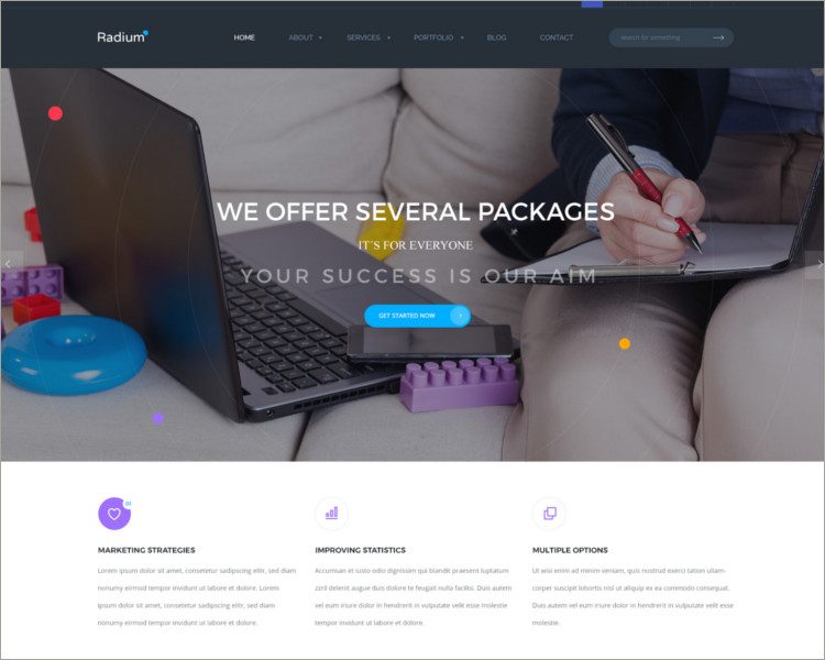 Digital Agency WordPress Theme