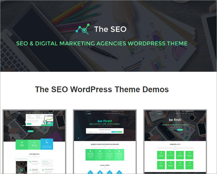 Digital Marketing Agency WordPress Theme