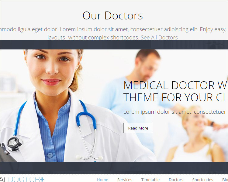 Doctor Acupuncture WordPress Theme