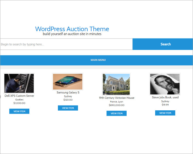 Download Action WordPress Templates