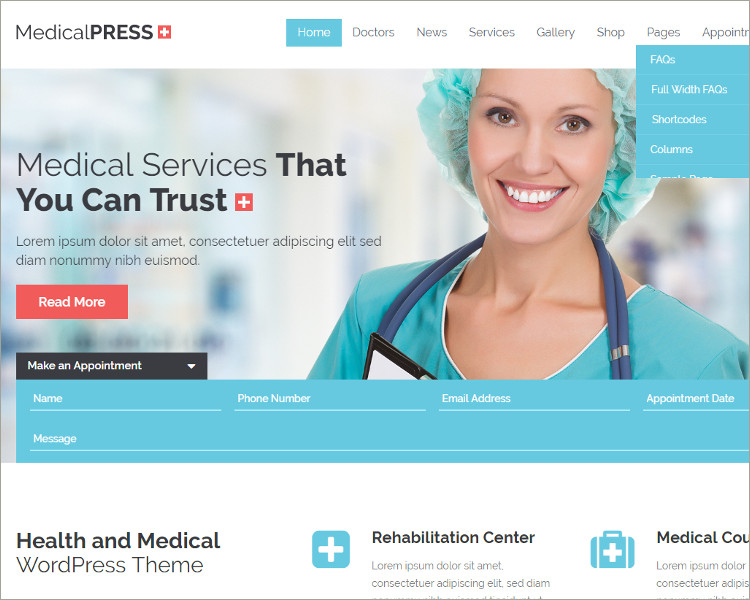 Download Acupuncture WordPress Theme