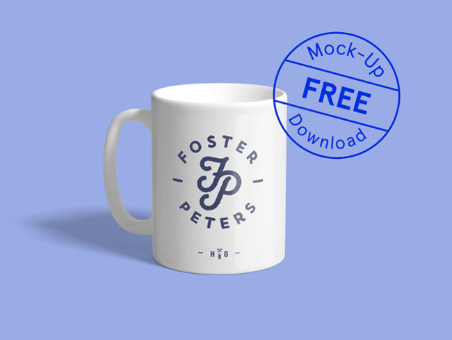 Downloadable Realistic PSD Mug Mockup