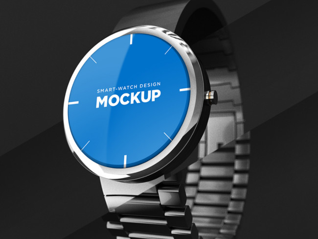 Editable Premium Smart Watch Mockup