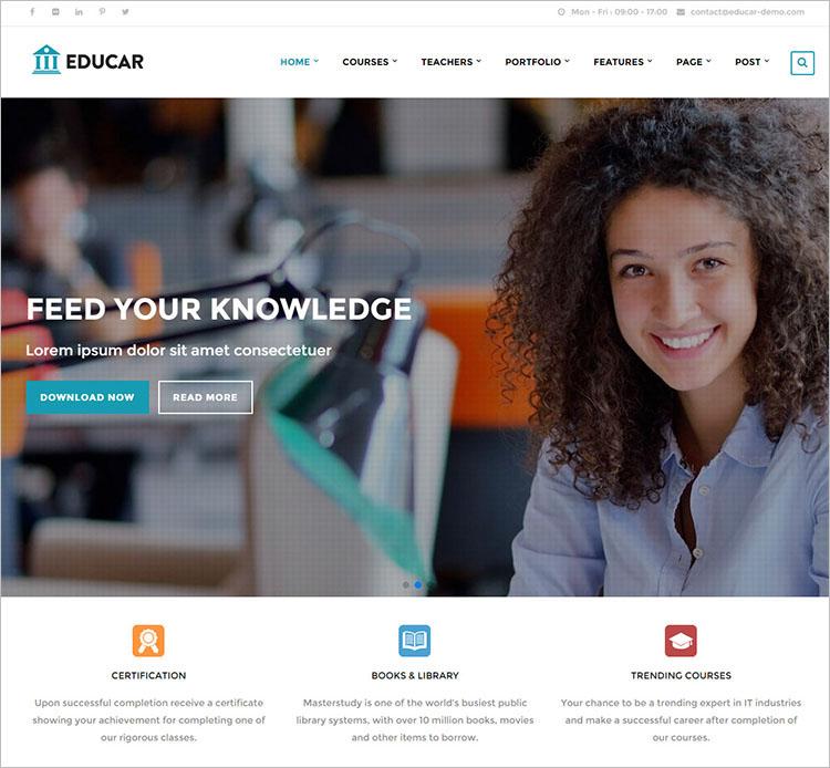 Education Drupal templates