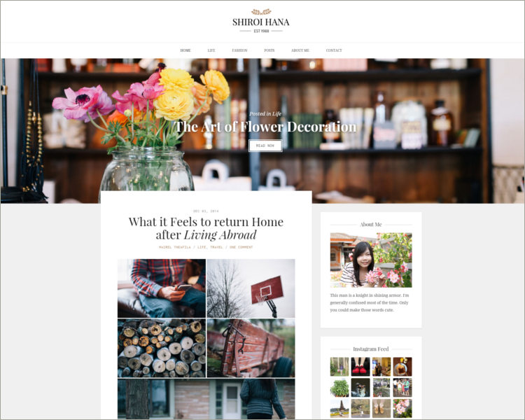 Elegant Blogging Theme