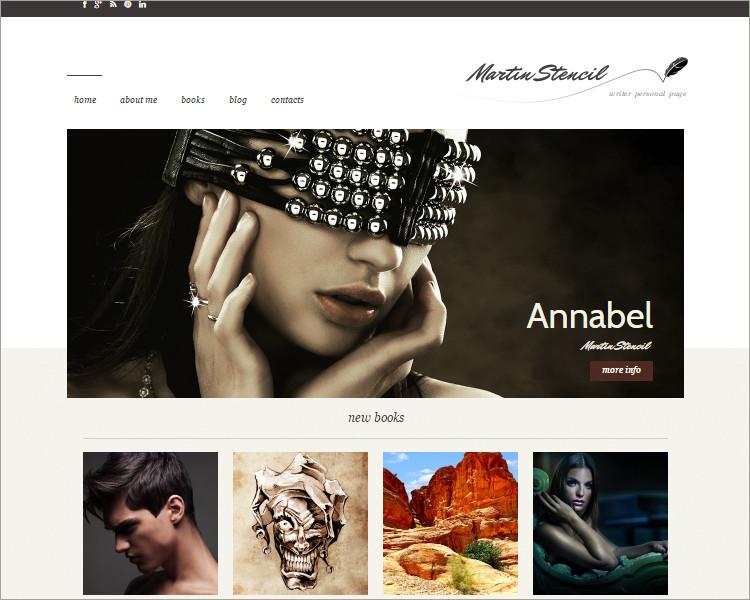 Elegant Copywriters WordPress Theme Templates