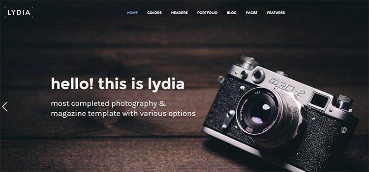 Elegant Photography Theme Templates