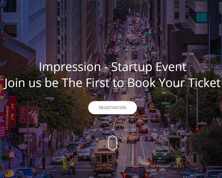 Event Bootstrap HTML Template