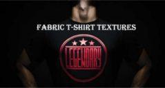 Fabric t shirts templates