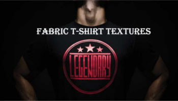 Fabric t shirts templates