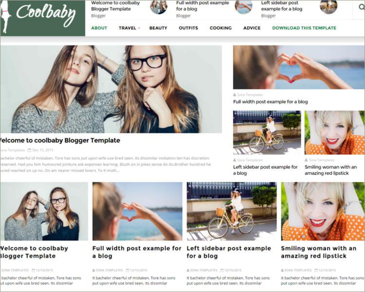 Fashion Blogger Templates