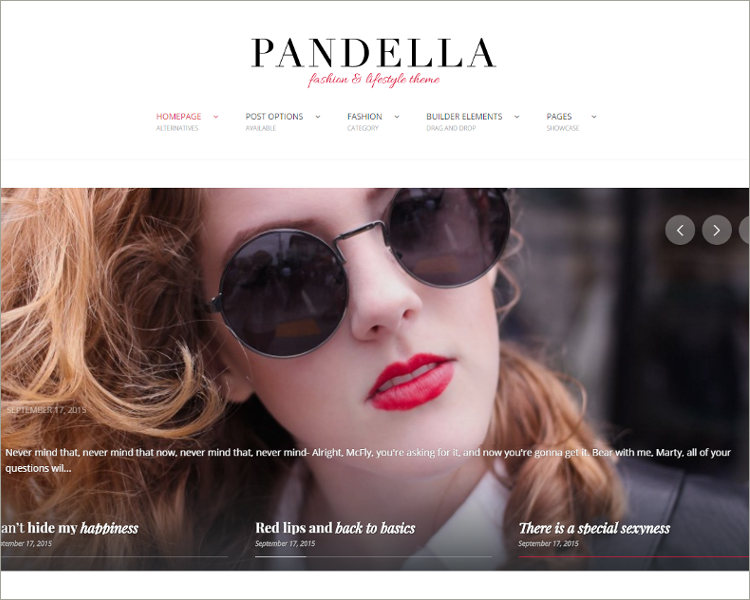 Fashion & Lifestyle Blog Theme