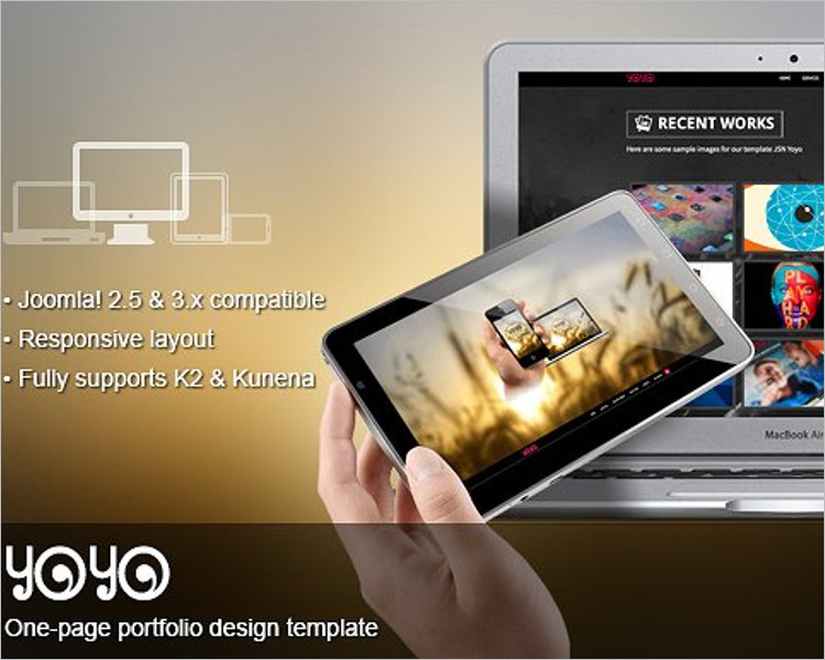 Flexible One-page Website Template