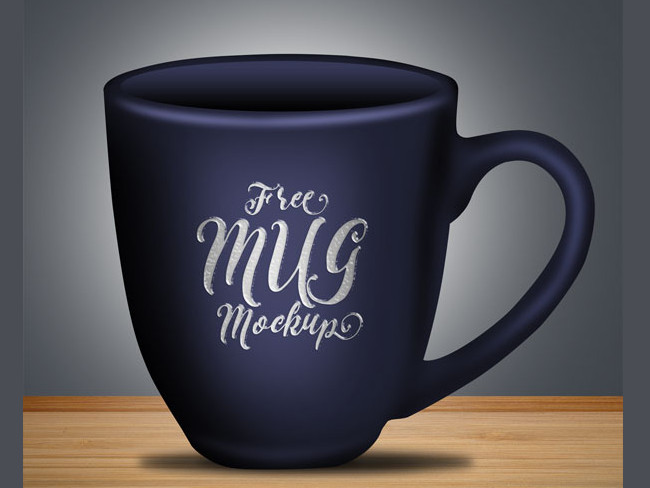 Free Coffee Mug Mock-up PSD File