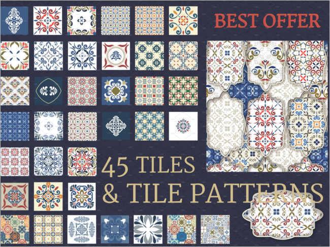 Free Floor Tile trexture Design