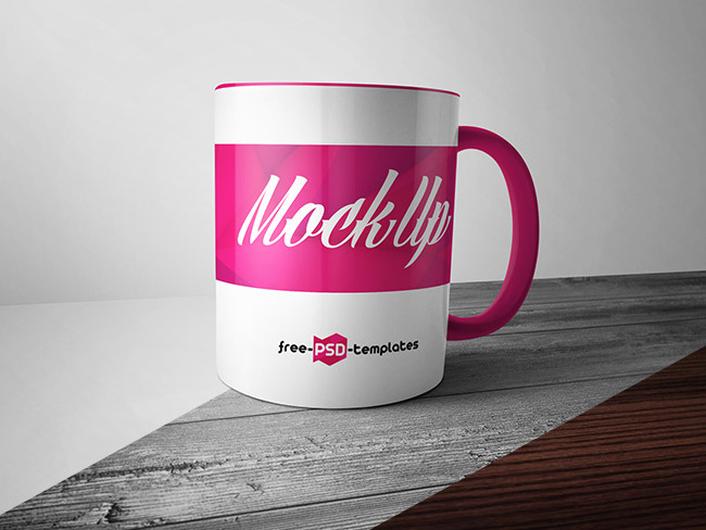 Free Mug Mock-Up PSD