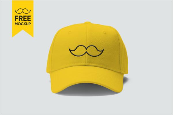 Free PSD Cap Mockup Design