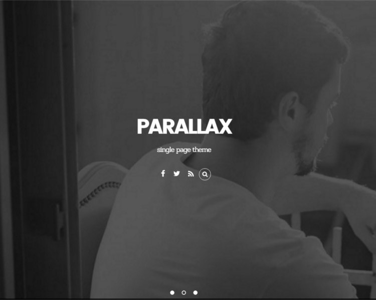 Free Parallex template