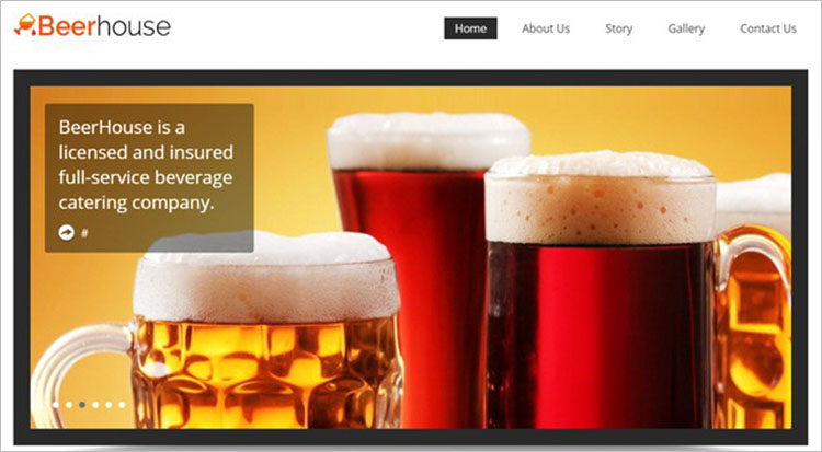 Free Pub wordPress Theme Templates