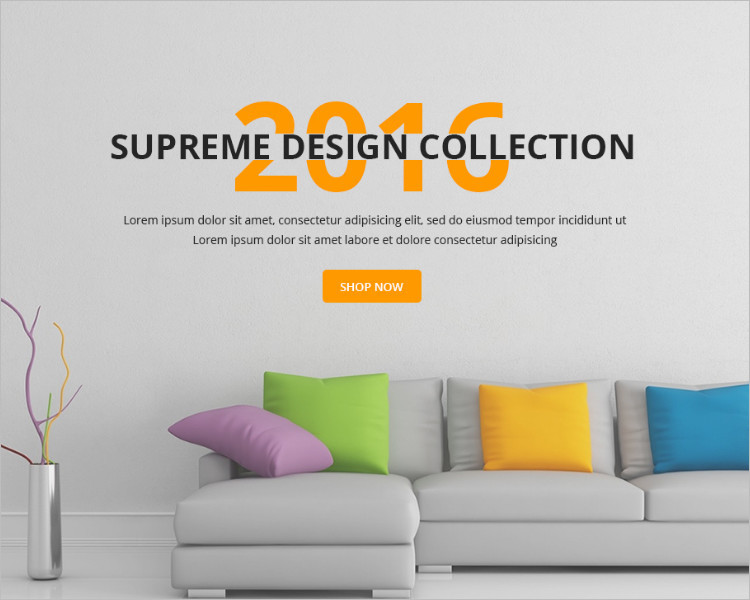Furniture E-commerce Boostrape Template