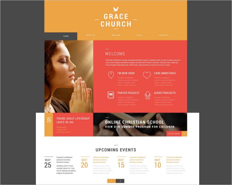 Grace Church Bootstrap Template