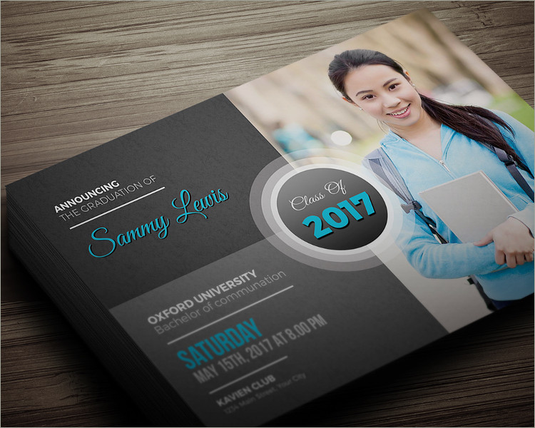 Graduation Invitation free template