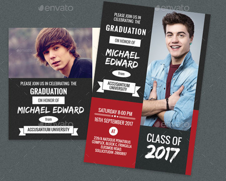 Graduation Party Post Card