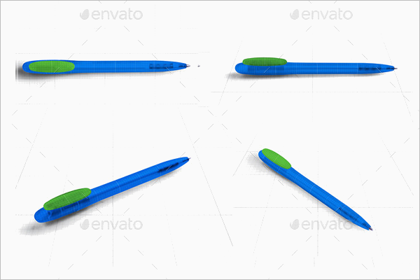 Graphic pen Mockup
