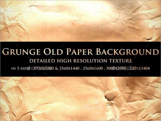 Grunge Old Paper Background